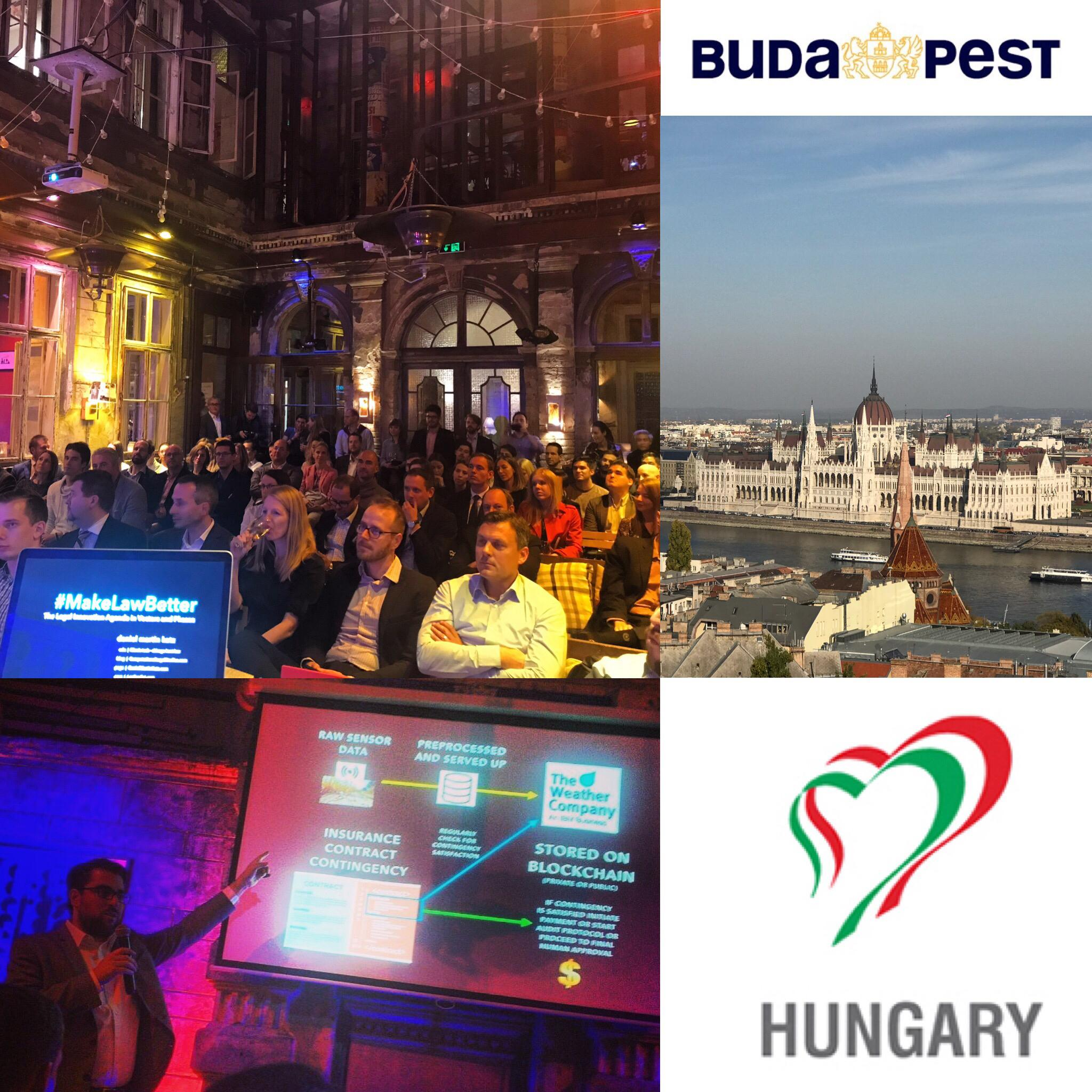 Budapest legal tech event