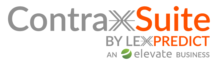 contraxsuite by lexpredict an elevate business